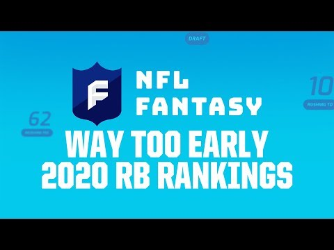 Way+too+early+2020+rb+rankings+%7c+nfl+fantasy+football+podcast+...