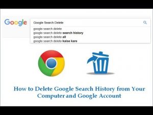 How To Delete Browsing History From Google Desktop